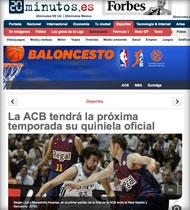 Quinibasket en 20minutos.es