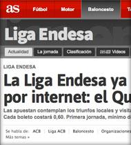 Quinibasket en As.com