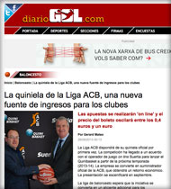 Quinibasket en Diariogol.com
