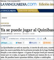 Quinibasket en Lavanguardia.com
