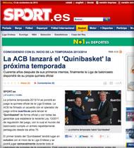 Quinibasket en Sport.es